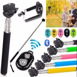 MONOPOD BLUETOOTH BASTON SELFIE + DISPARADOR BLUETOOTH