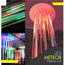 LUCES LED METEORO DE COLORES