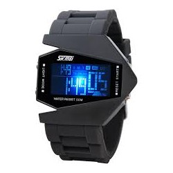 Reloj Deportivo Led Modelo Avion