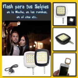 Flash Para Celular Recargable Luz led