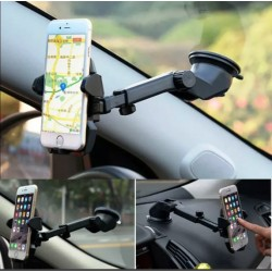 HOLDER PEGATODO PARA CELULAR COLOCALO EN CUALQUIER SUPERFICIE - LONG NECK ONE-TOUCH MOUNT