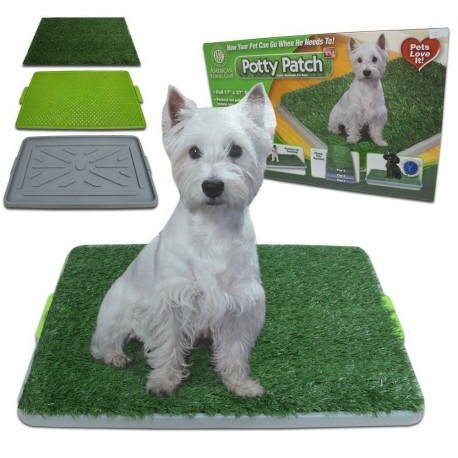 BAÑO ECOLOGICO PORTATIL PARA PERROS PET POTTY