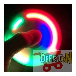 Fidget Hand Spinner Luces Led