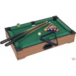 Mesa de Billar Pool Table Portatil de Madera Full Accesorios